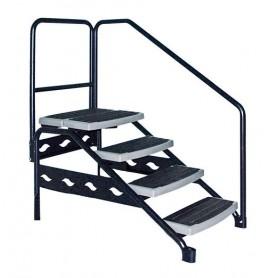Escaleras para acceso a Spa y Swimspa.