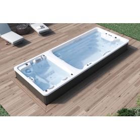 Swimspa Dual Astralpool (Zona Natación / 2 sentados + 1 tumbado)