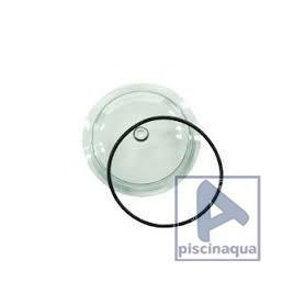 Tapa FIltro Transparente+Junta Filtro M-300, Aplister, Corona y Millenium Astralpool