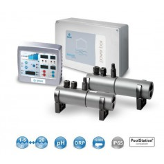 Clorador salino IDEGIS  DOM6+SPA, con control PH/ORP, 6 G.Cloro/Hora, piscinas hasta 20m3.