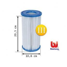 58093 Cartucho Filtración tipo I, para depuradoras 1249 l/h