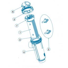 Soporte electrodos Idegis BIP, DOm-40P/42, R-015-05 BIP