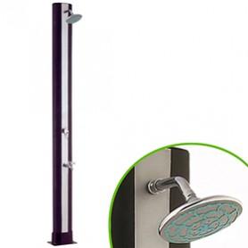Ducha Solar Con Grifo Lavapiés PVC 40 litros